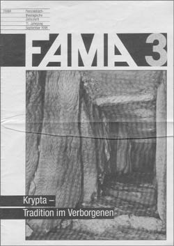 1995-3<br>Krypta – Tradition im Verborgenen